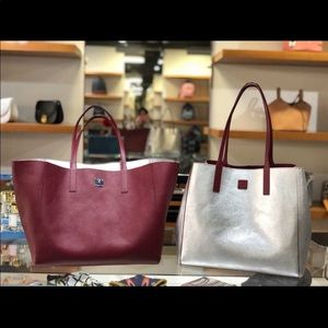 MCM Reversible Leather Tote